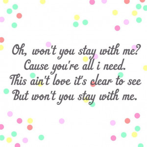 Stay With Me Sam Smith Sam smith - stay with me