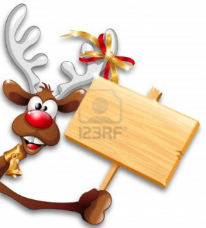 funny reindeer with Christmas, Christmas and reindeer, Christmas funny ...