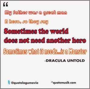 movie quotes- dracula untold