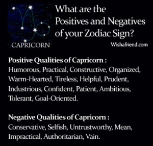 sign result zodiac sign traits find the positives and negatives of ...