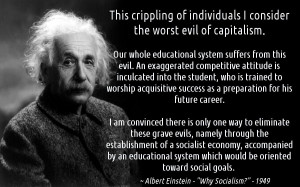 The following quote is taken from Einstein's 1949 article in Monthly ...