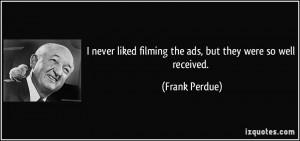 Frank Perdue Quote