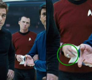 Scotty is seen wearing this ring not only in this movie, but also in ...