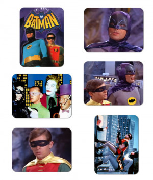 Batman And Robin 1960's TV Series Large 3x4 Magnet Set