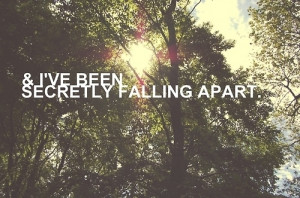 falling apart, nature, photography, quote, quotes, text, tree, trees ...