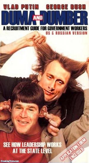 Putin & George W . Bush in Dumb and Dumber Pics - High Resolution ...