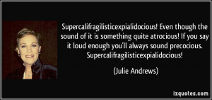 More Julie Andrews Quotes