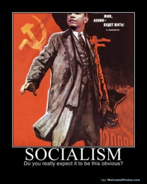 Obama as Lenin: 'Socialism: Do you really expect it to be this obvious ...