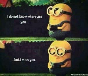 beautiful cute love minion sad