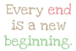 But, it is crazy whatGod gives you when you pray for new beginnings...