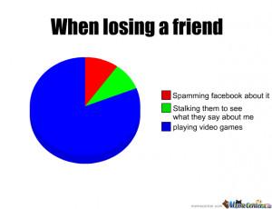 When Losing A Friend