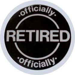 gag retirement button funny retirement gift the gag retirement button