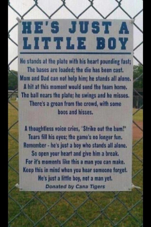 Hes Just a Little Boy. Great piece. favorite-parenting-quotes