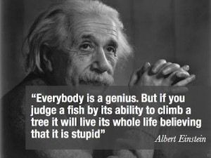 believe that every child is a genius. But I also believe that every ...