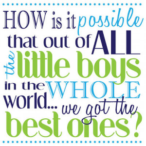 Little Boy Birthday Quotes