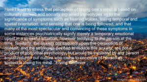Top Quotes About Abnormal Psychology