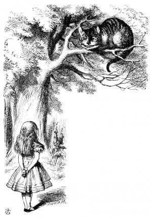 Alice in Wonderland (2010) Drawings