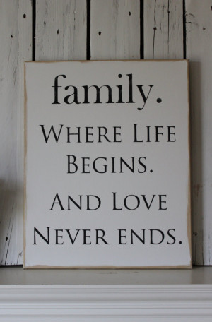 always love your family through the rough times and the best of times ...