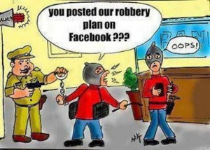 Height of addiction on facebook Bank robbery plan updated a day before ...