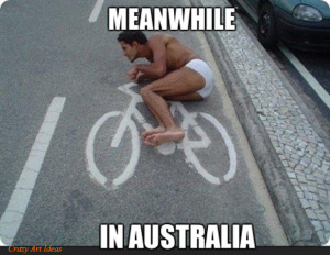 Meanwhile In Australia………..