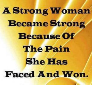 Yessss Strong women