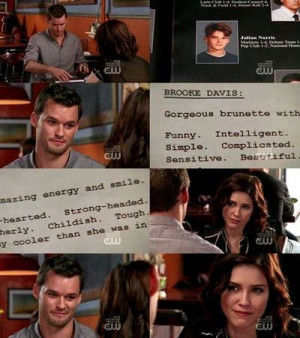 "... second of the wait.One Tree Hill 6x16 - ""Screenwriter's Blues"