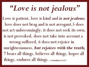 Love Is Not Abuse Quotes | What is the cure for jealousy? Love is the ...