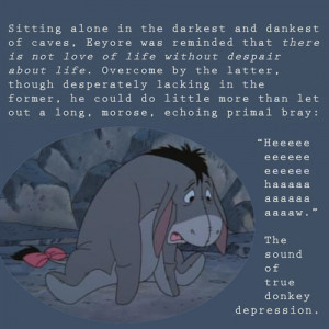 eeyore quotes depression depressed donkey eyore