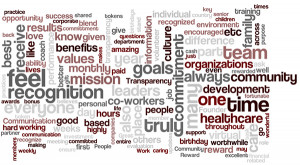 feedback from employees via an anonymous survey. Following are quotes ...