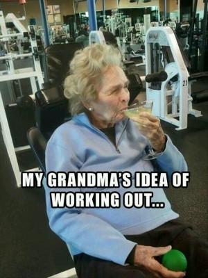 Funny grandma