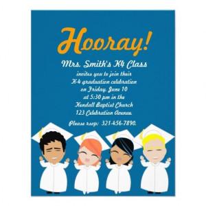 elementary GRADUATION invitation or announcement