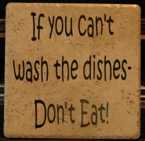 Klo malas nak basuh pinggan, toksah makan!!!!!