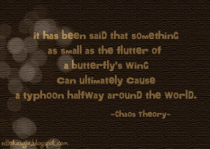 Chaos Theory Quotes