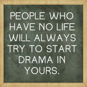 drama #life #lessons #friendship #jealousy