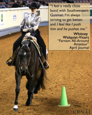 ... Quarter Horse Journal and the accompanying high point supplement: www