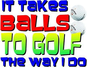 Details about T-shirt Humorous Funny Golf Sayings Mens Womens Gift
