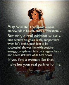 ... on my wall. Does your wife, at home, know how much you appreciate her