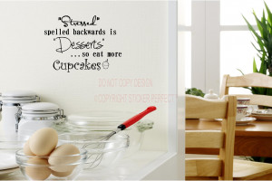 ... desserts so eat more cupcakes cute vinyl wall decal quotes sayings art
