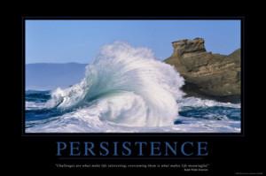 Persistence Produces Success