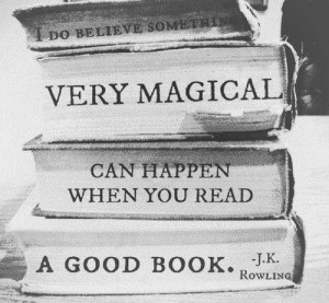 JK Rowling reading quote