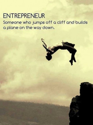 Great #quote about #entrepreneurs...