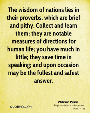... time in speaking; and upon occasion may be the fullest and safest