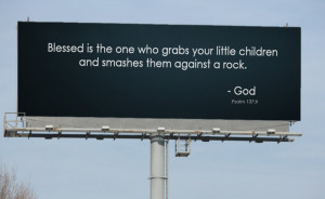 Bible-Quoting Billboards for the Atheist Crowd
