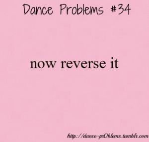Dance problems