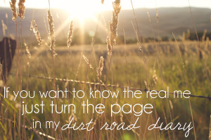 Country Dirt Road Quotes