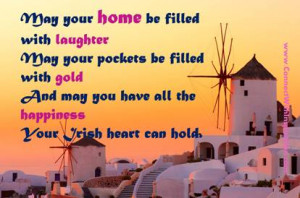 Click for a delightful large picture quote on- May your home be filled ...