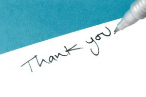Use a quote to say thank you!