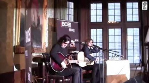 EUROPE Behind The Scenes at Radio Bob Acoustic Concert - Walk on stage ...