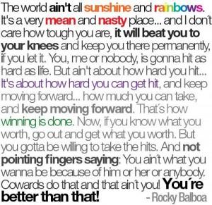 Rocky Balboa Quotes