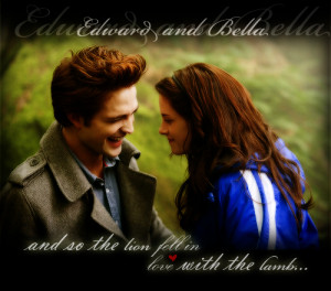 Twilight Quotes Lion Fell In Love With The Lamb Is when i fall in love ...
